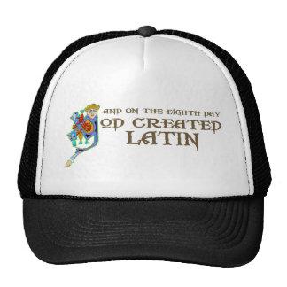 God Created Latin Mesh Hats