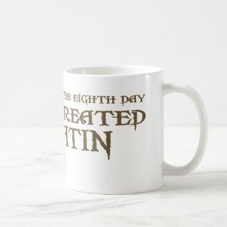 God Created Latin Mugs