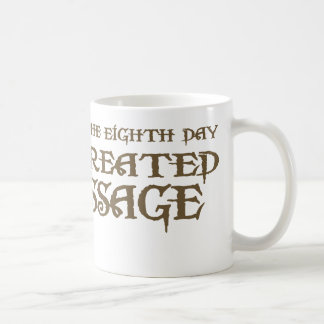 God Created Massage Coffee Mug
