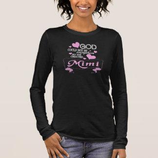 God Created MiMi Long Sleeve T-Shirt