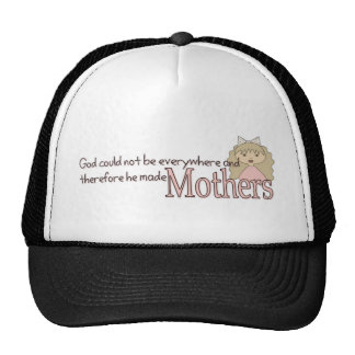 God created Mothers Trucker Hat