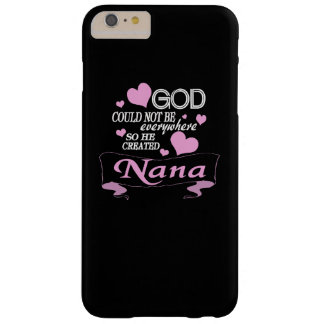 God Created NaNa Barely There iPhone 6 Plus Case