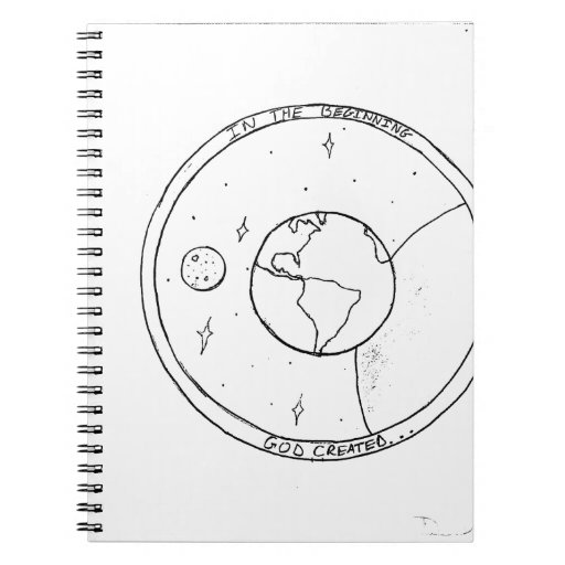 God Created! Spiral Note Book