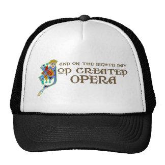 God Created Opera Hat