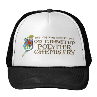 God Created Polymer Chemistry Mesh Hats