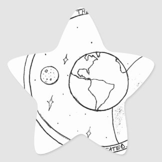 God Created! Star Sticker