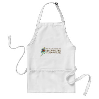 God Created Woodworking Standard Apron
