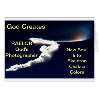 God Creates New Soul Greeting Card