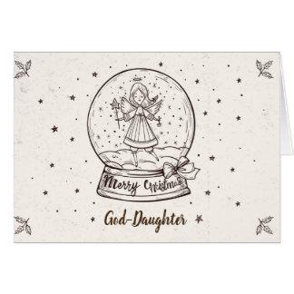 God-Daughter Christmas Card