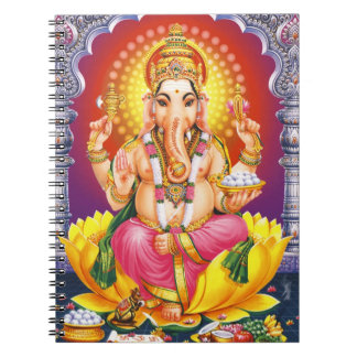God Ganesha Notebooks