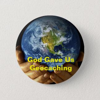God Gave Us Geocaching GeoSwag Pin
