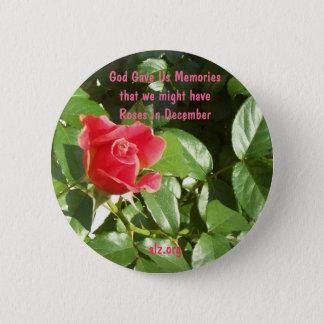 God Gave us Roses Alzheimer's Button