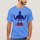 God Guns and Trump Red White and Blue 2017 T-Shirt