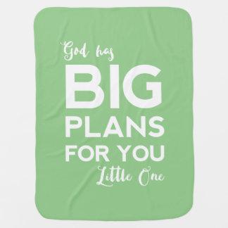 God Has Big Plans | Christian Baby Blanket