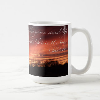 God has given us eternal life - mug