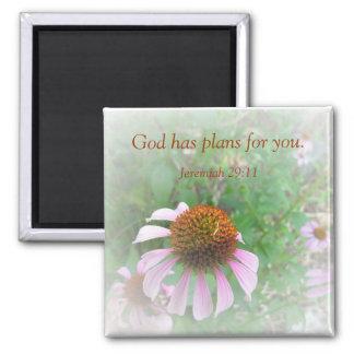 God has plans for you. magnet