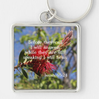 God Hears You Keychain