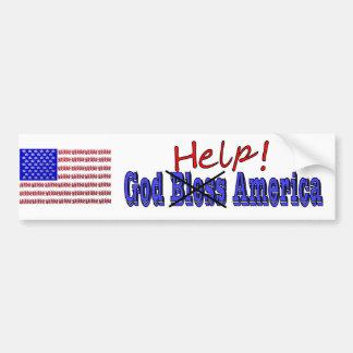 God Help America Bumper Sticker
