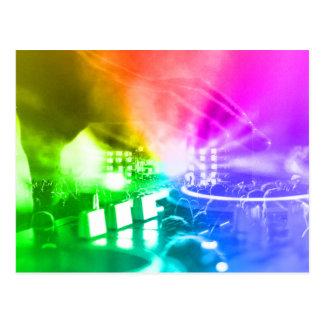 God is a DJ Postcard