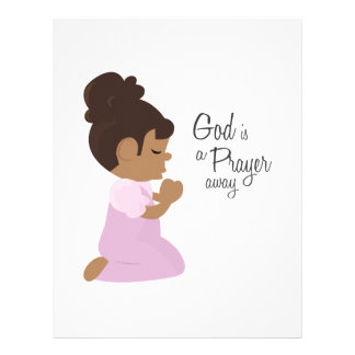 God Is A Prayer Away Letterhead