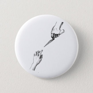God is an Archaeologist! Badge 2 Inch Round Button