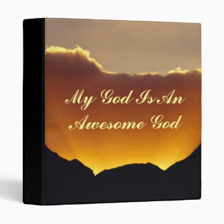 God Is Awesome - Multi-Purpose Binder