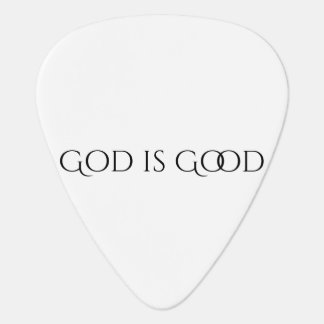 God is Good Guitar Pick