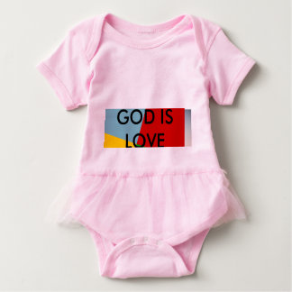 God Is Love baby body suit Baby Bodysuit