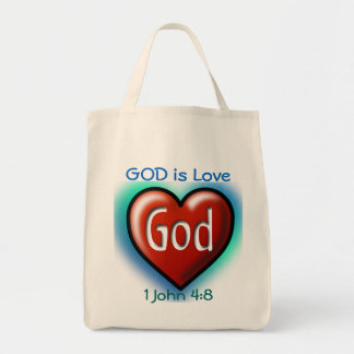 God is Love bags
