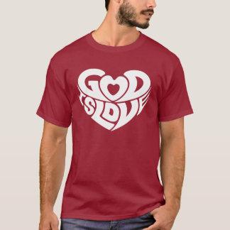 God Is Love Bible Verse Scripture Cool Christian T-Shirt