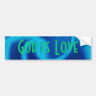 God is Love Bumper Sticker