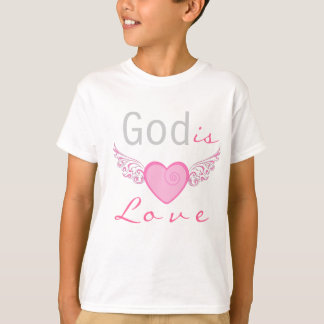 God is love, personalized christian t-shirt