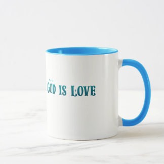 God is Love – Spiritual and Religious - Mug