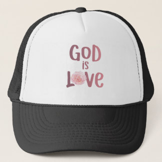God is Love – Spiritual and Religious Shirt Trucker Hat