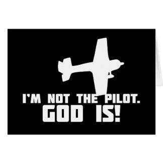 God is My Pilot Cards