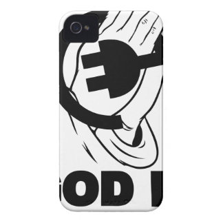 God-is-my-plug Case-Mate iPhone 4 Case