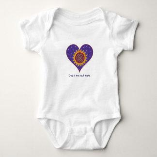 God Is My Soul Mate Baby Bodysuit
