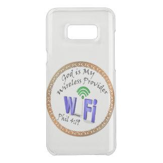 God is My Wireless Provider Phil 4:19 Uncommon Samsung Galaxy S8 Plus Case