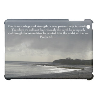 God is our refuge and strength-Stormy Sky iPad Mini Cases