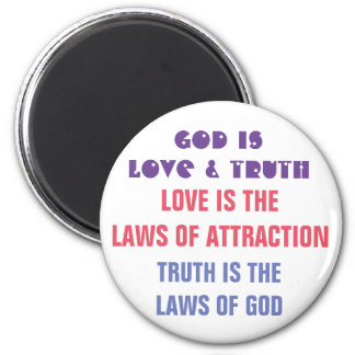 God is - Quote Magnet