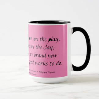 GOD IS THE POET Verse 4 Mug Stephanie Hutchinson