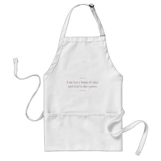 God is The Potter Standard Apron