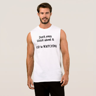 God is Watching Shirt