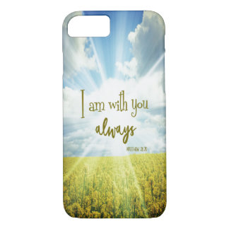 God is with you always Bible Verse Case-Mate iPhone Case
