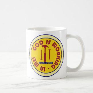 God is Working in Me Cup Coffee Mug