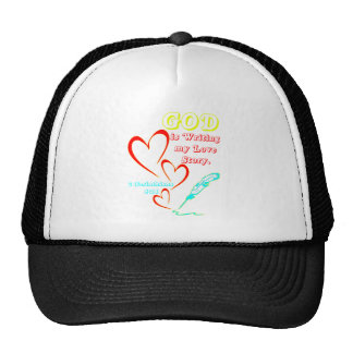 God is Writing My Love Story Trucker Hat