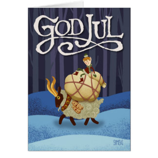 God Jul 2 Card