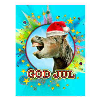GOD JUL POSTCARD