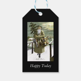 God Jul Swedish Santa Gift Tags