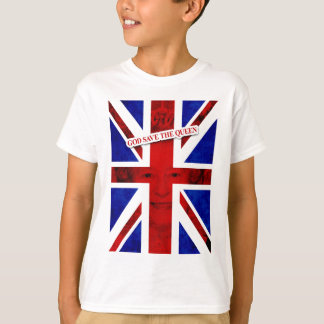 GOD KNOWS THE QUEEN UK Edition T-Shirt